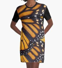 Monarch Butterfly Mandala Graphic T-Shirt Dress