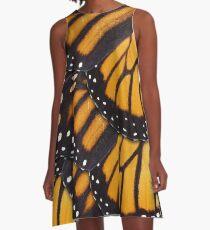Monarch Butterfly Mandala A-Line Dress