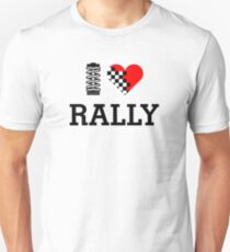 I Love RALLY (1) Unisex T-Shirt