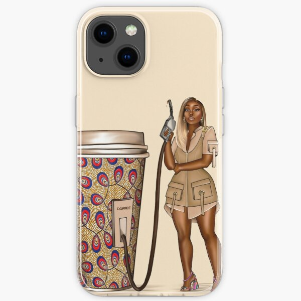 Ankara Coffee iPhone Soft Case