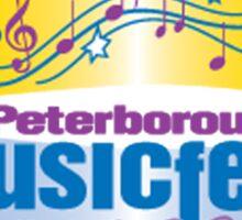 Peterborough Music festival 2016 Sticker