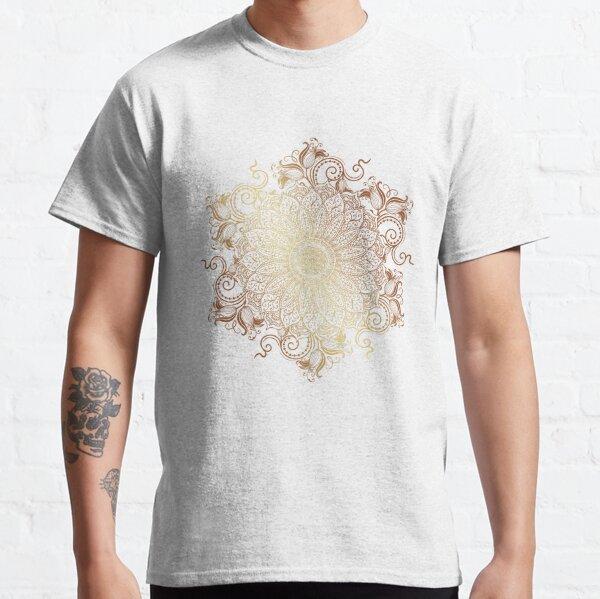 Golden Mandala Classic T-Shirt
