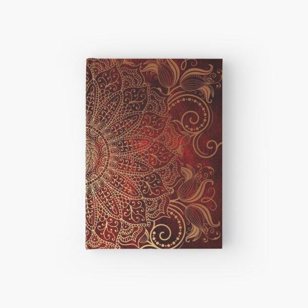 Golden Mandala Hardcover Journal