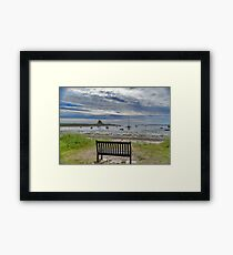 The View From Framed Print