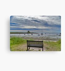 The View From Canvas Print