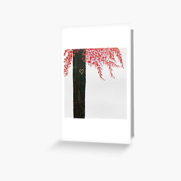 For The Love Of Trees by Rochelle McConnachie Greeting Card