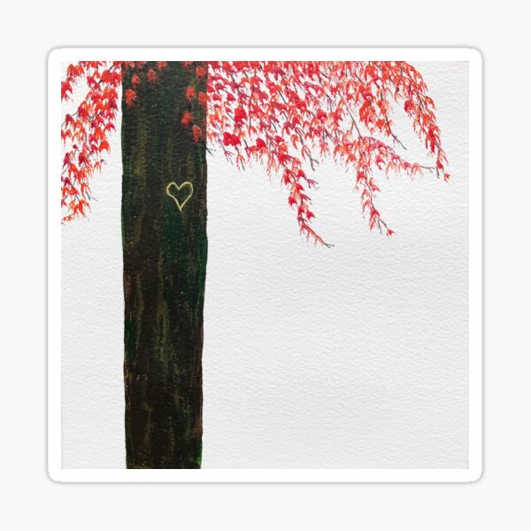 For The Love Of Trees by Rochelle McConnachie Sticker