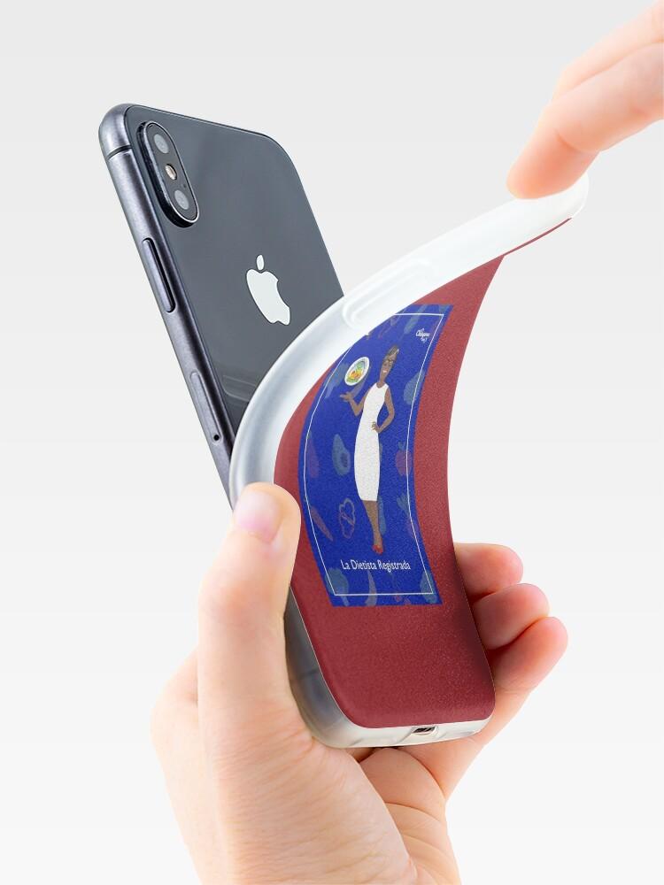 Alternate view of La Dietista Registrada iPhone Case