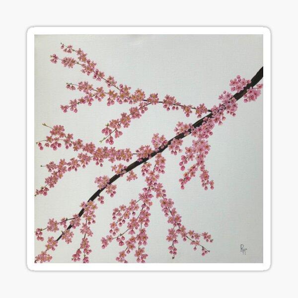 Cherry Blossom by RochelleMc Sticker