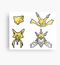 Abra's Evolution Metal Print