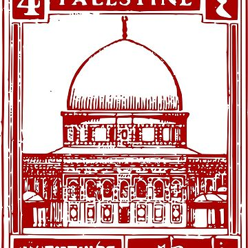 Palestine Stamp by Danielin