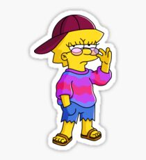Dope Lisa 2 Sticker