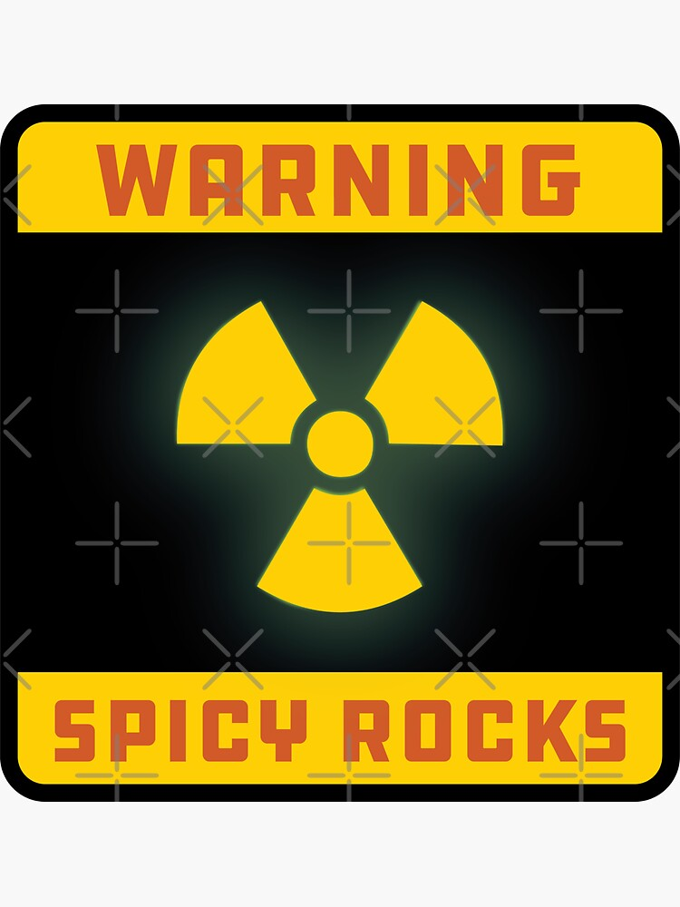 Warning: Spicy Rocks by brainthought