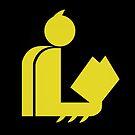 Bat Gentleman Reads by Hafuboti