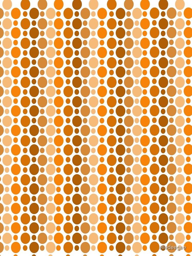 Earthy Retro Speckles by elledeegee