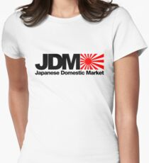 Japanese Domestic Market JDM (2) Women's Fitted T-Shirt