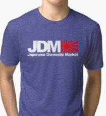 Japanese Domestic Market JDM (3) Tri-blend T-Shirt
