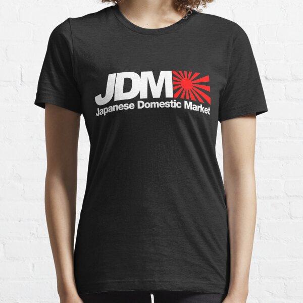 Mercado interno japonés JDM (3) Camiseta esencial