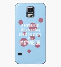 Lady Gaga - PARTYNAUSEOUS Case/Skin for Samsung Galaxy