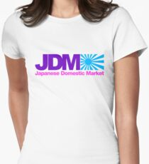 Japanese Domestic Market JDM (7) Women's Fitted T-Shirt