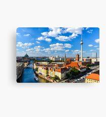 Skyline of Berlin Canvas Print