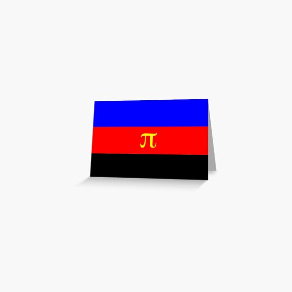 Polyamory Pride Flag Greeting Card