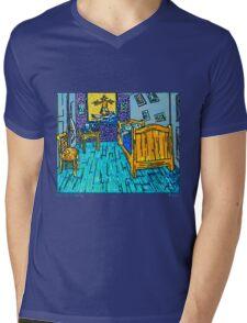 Arles Surf Club Mens V-Neck T-Shirt