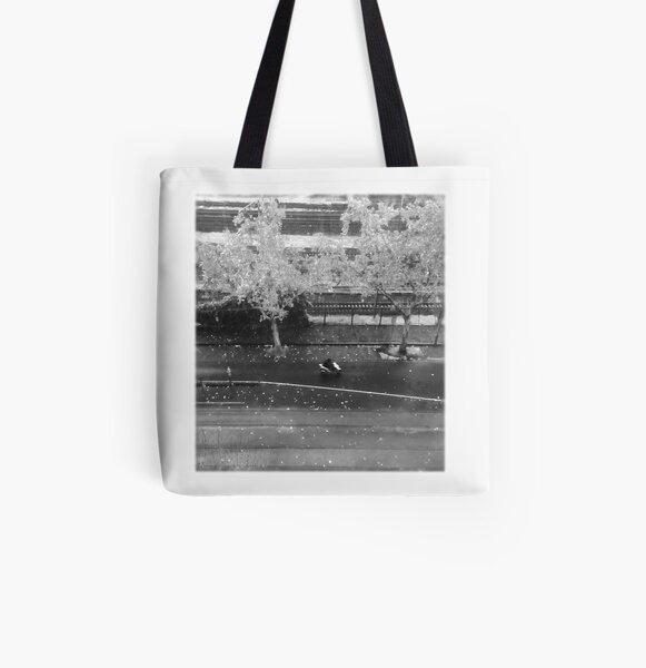 Fall rain All Over Print Tote Bag