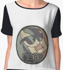 PONY SWAGGER WOMEN'S VEES by Forty-Nine Apparel Chiffon Top