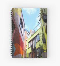 rainbow walls Spiral Notebook