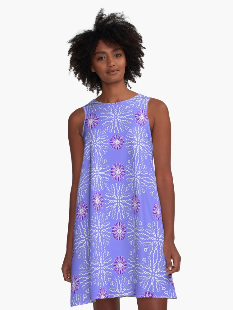 Starry Orbs (MA1) A-Line Dress Front