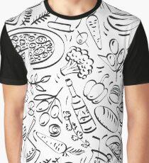 - Coffee Shop pattern - Graphic T-Shirt