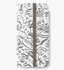 - Coffee Shop pattern - iPhone Wallet/Case/Skin