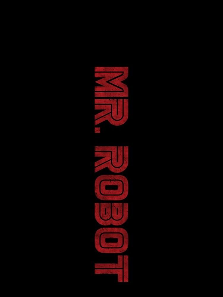 Herr Roboter (Grunge) - Phone Cases von random-artist
