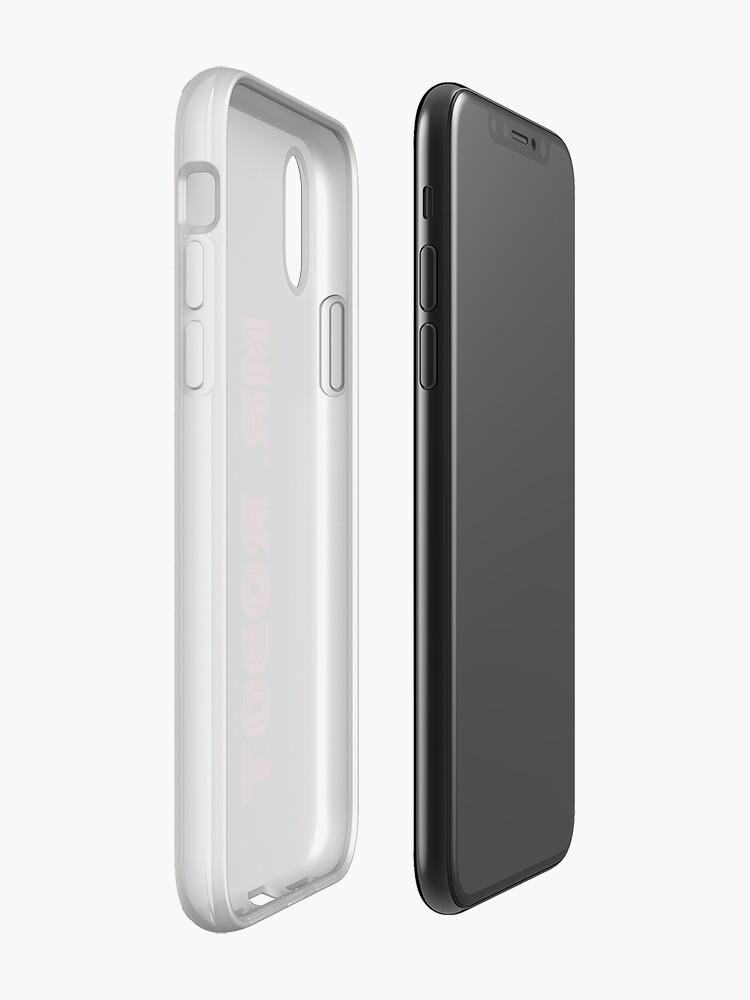 Alternative Ansicht von Herr Roboter (Grunge) - Phone Cases iPhone-Hülle & Cover