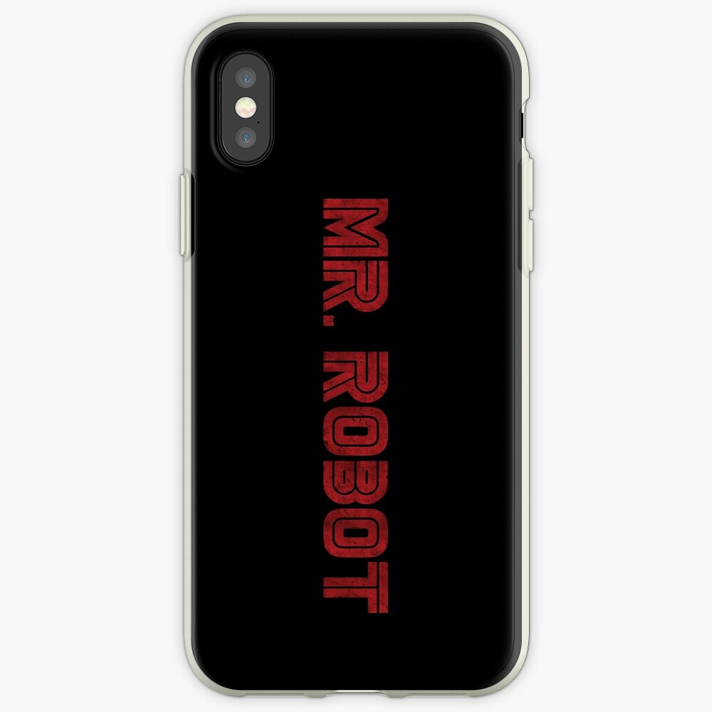 Herr Roboter (Grunge) - Phone Cases iPhone-Hülle & Cover
