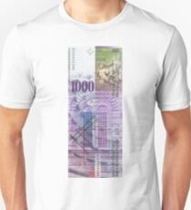1000 Swiss Franc Bill T-Shirt