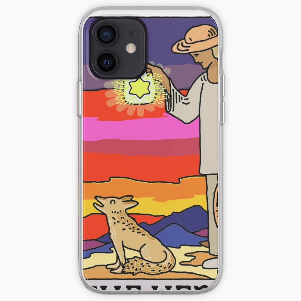 The Hermit and The Coyote iPhone Case & Cover