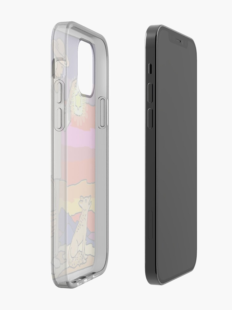 Alternate view of The Hermit and The Coyote iPhone Case & Cover