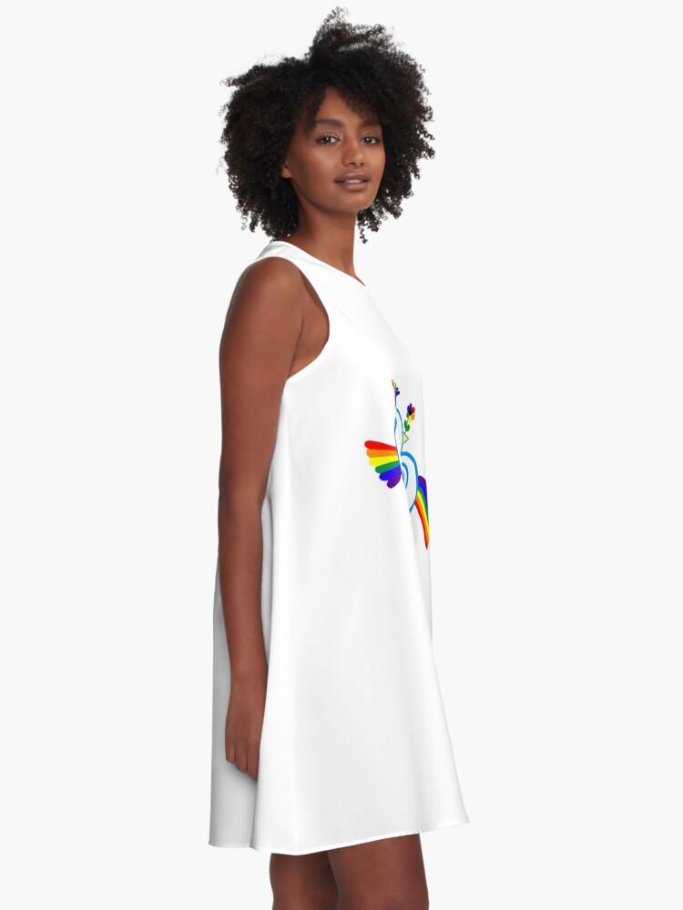 Alternate view of Rainbird A-Line Dress