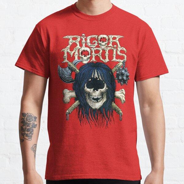 Rigor Mortis - Classic Old School Thrash Heavy Metal Classic T-Shirt
