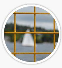 Bokeh Lake Sticker