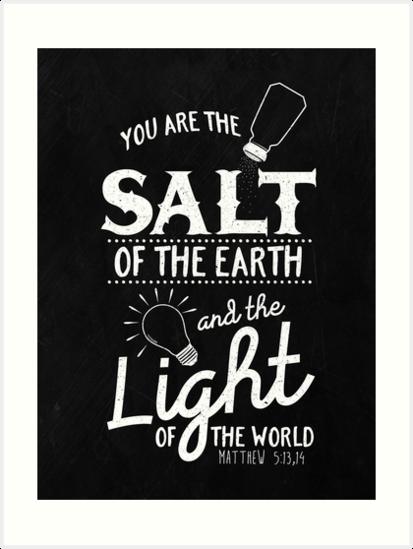 Matthew 5:13,14 by JW ARTS & CRAFTS