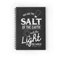Matthew 5:13,14 Spiral Notebook