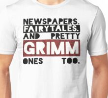 Newspapers. Fairytales. Unisex T-Shirt