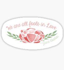 Fools in Love Sticker