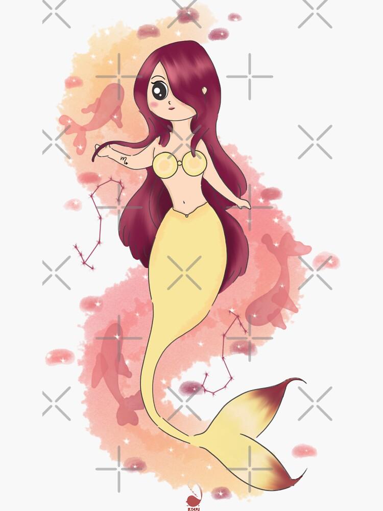 Scorpion mermaid by Aadoodles-ACU