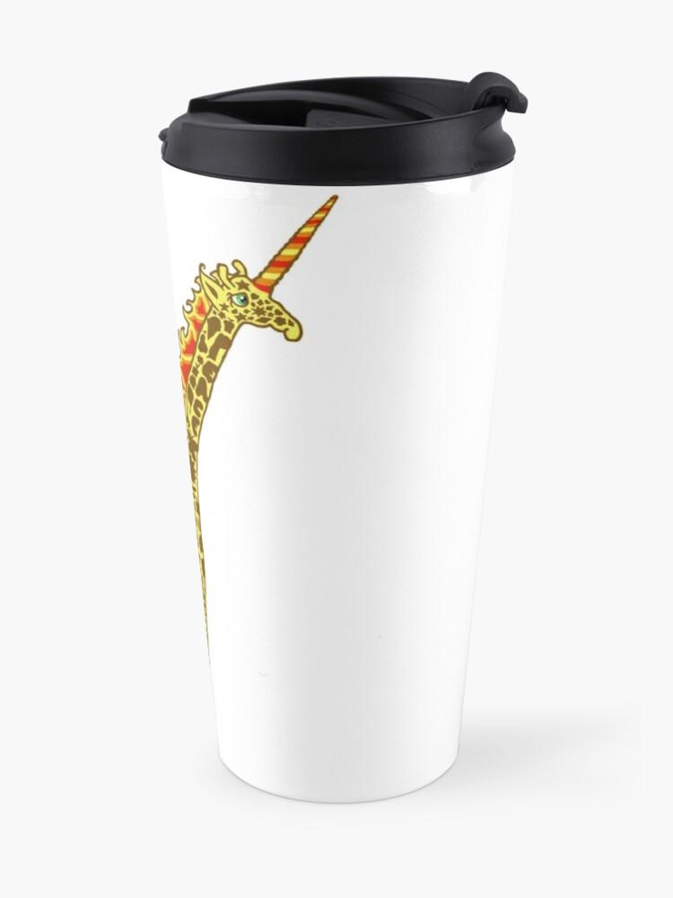 Alternate view of Giralicorn  Travel Mug