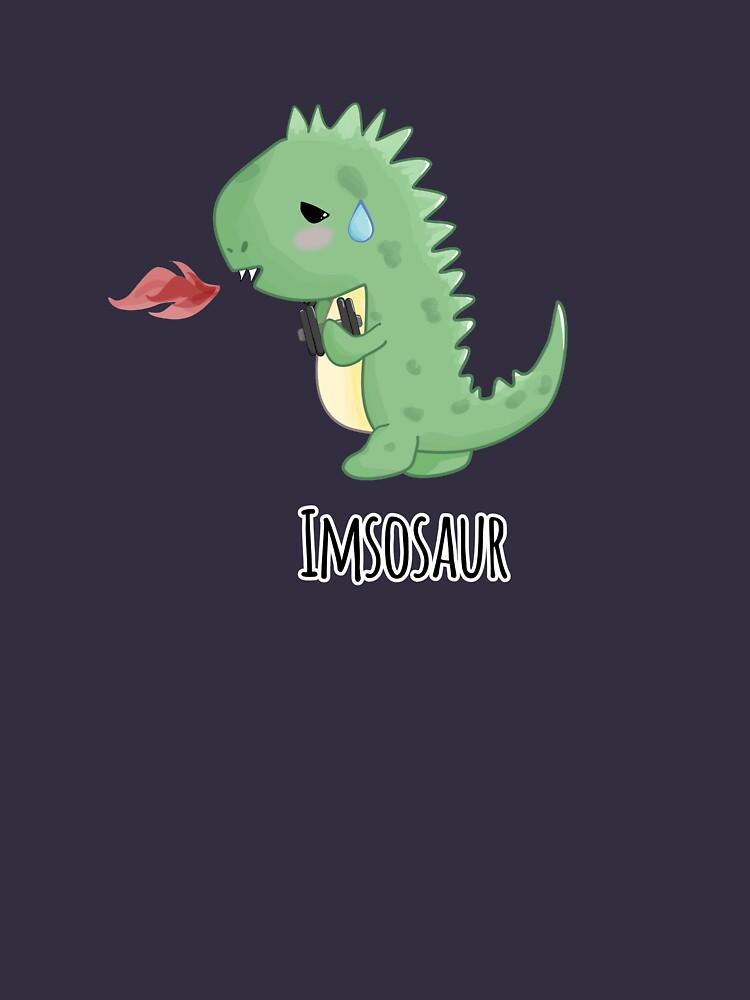 Sore Gym Dinosaur by distancingqueen