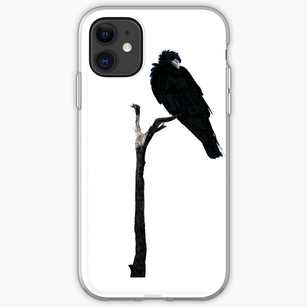 Punk Rock Raven iPhone Case & Cover